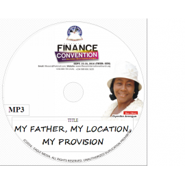 My Father, my location and my provision.mp3