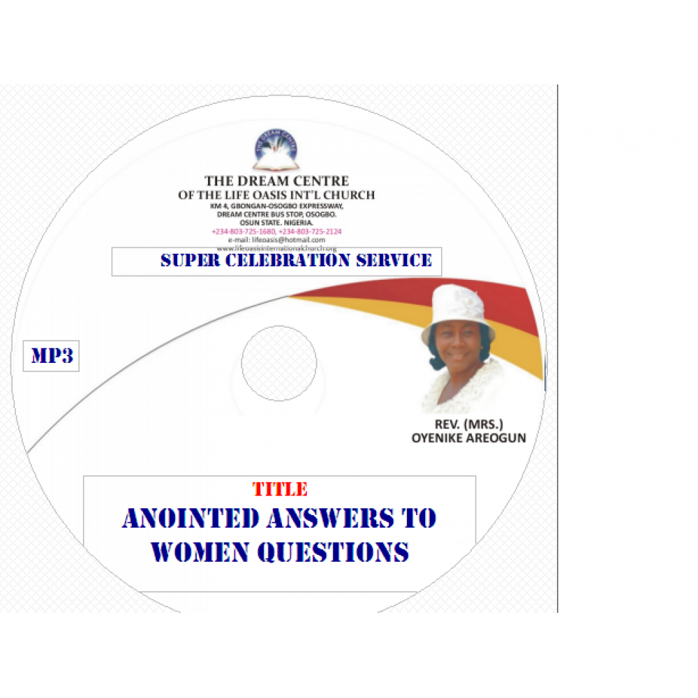 Anointed Answers to Women Questions (Part 2).mp3