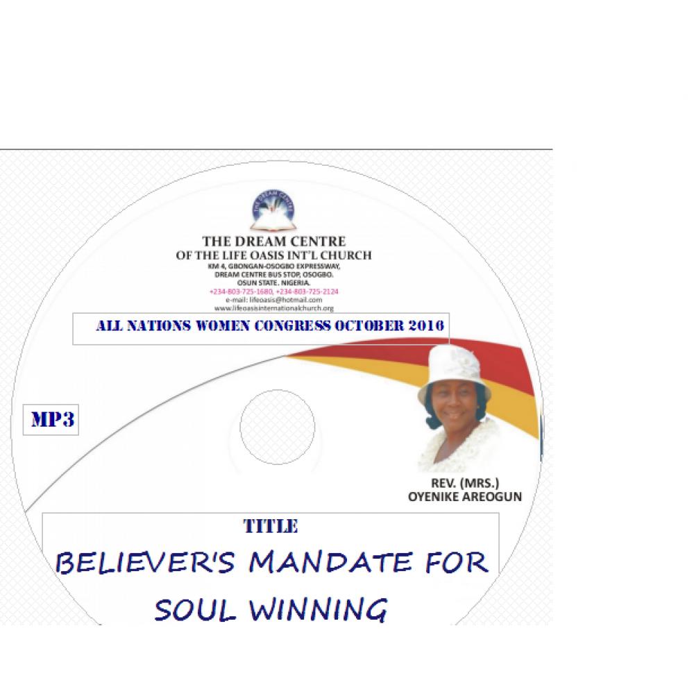 Believer's Mandate for Soul Winning .mp3