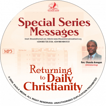 Returning to Daily Christianity