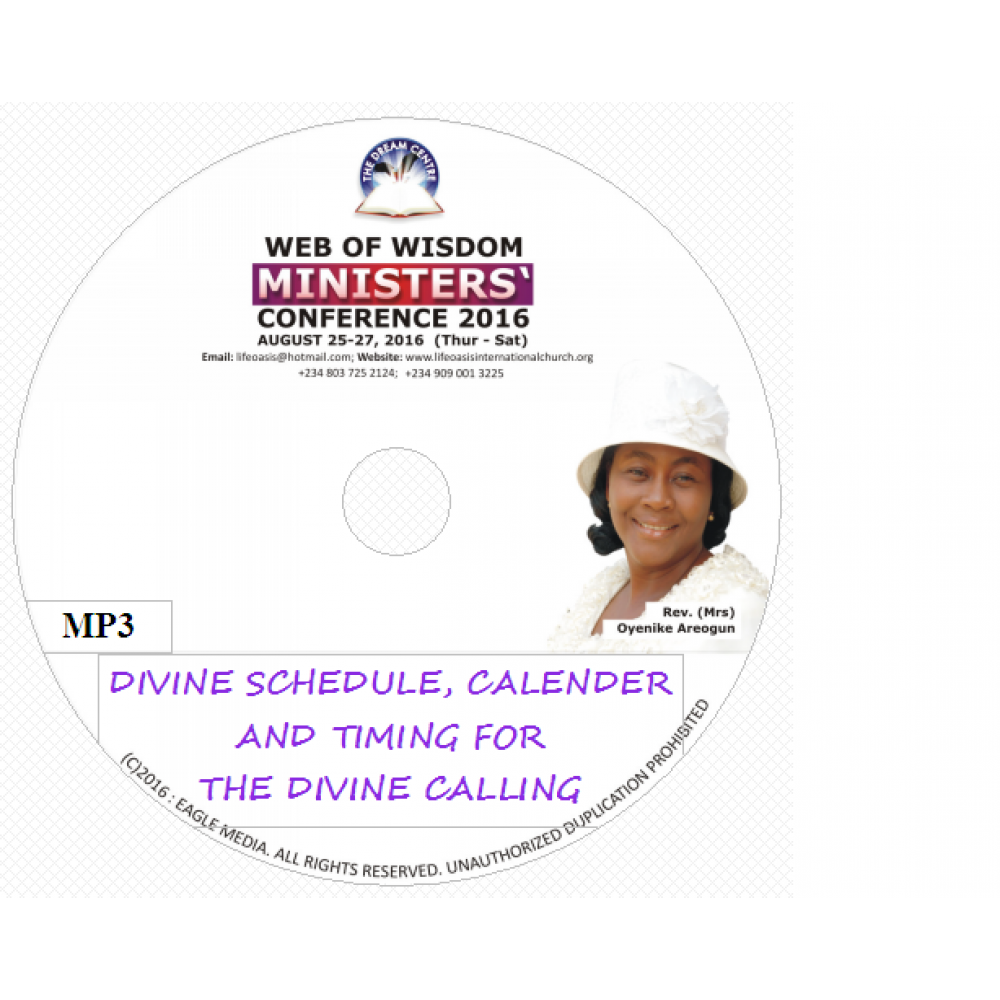 Divine schedule, Calender and Timing for the Divine Calling.mp3