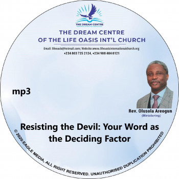 Resisting the Devil - Your Word as the Deciding Factor - mp3
