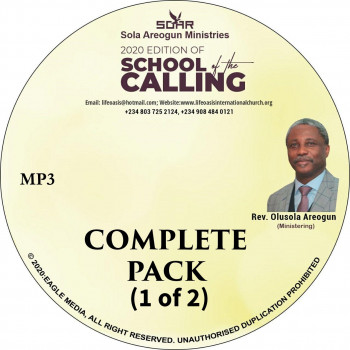 2020 School of Calling    MP3   Complete Pack 1 of 2