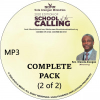 2020 School of Calling  | MP3 | Complete Pack 2 of 2