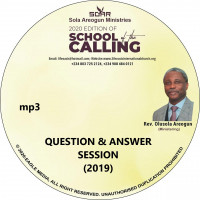2019 School of Calling Question and Answers Session - mp3