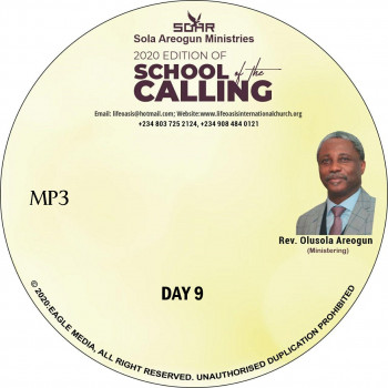 2020 SCHOOL OF THE CALLING DAY 9 - mp3