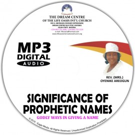 Significance of Prophetic Names