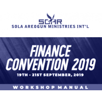 Annual Finance Convention 2019 Manual