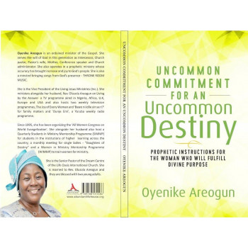 UNCOMMON COMMITMENT FOR AN UNCOMMON DESTINY